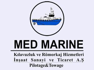 Med Marine: İzmit Körfezi'nde Kılavuzluk ve Römorkör hizmetleri devam ediyor