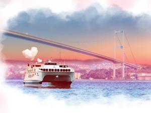 İDO, 14 Şubat'ta 14 sevgiliye karada denizde hizmet verecek