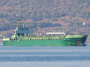 Fırtınaya yakalanan 'Kerem S' adlı gemi karaya oturdu, mürettebat kurtarıldı