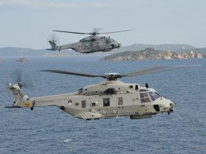 NH90 tipi helikopterler, deniz üzerinde görev yapmaya elverişli değil