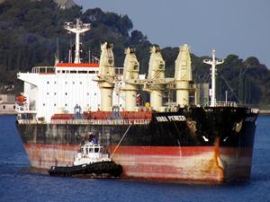 Türk şirketine ait M/V KIANA PIONEER, Lizbon Limanı'nda tutuklandı