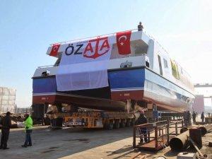 İstanbul ve İzmir'in yolcu gemileri Özata Tersanesi'nde üretiliyor