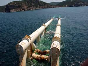 Türk Akımı'nda açık denize yapılacak ilk boru hattının sözleşmesi feshedildi