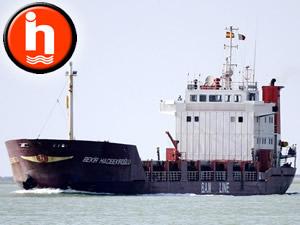 M/V BEKIR HACIBEKIROĞLU, Slovenya'nın Koper Limanı'nda tutuklandı
