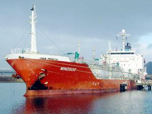 M/T WINDSOR isimli LPG tankeri, 5 milyon dolara Türk alıcıya satıldı