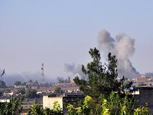 Koalisyon güçleri IŞİD'in Suriye'deki rafinerisini bombaladı