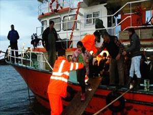 Ege Denizi nde 264 sığınmacı kurtarıldı