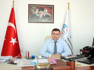 Behlül Karataş Aliağa Liman Başkanlığı görevine başladı