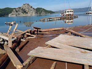 Marmaris'te turizm sezonu öncesi iskele krizi