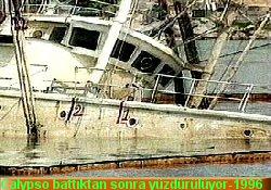 Cousteau'nun gemisi diriliyor