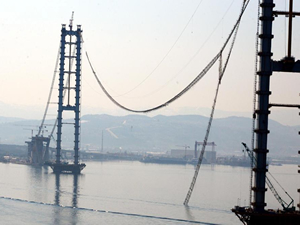 İzmit Körfez Geçiş Köprüsü'nde parçalar yurt dışında yeniden yapılacak