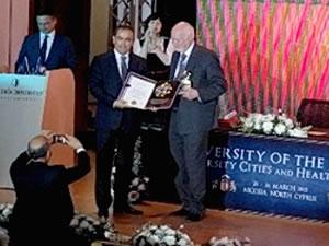 Kaptan Muhsin Emirsoy, Socrates Onur Ödülü'nü aldı