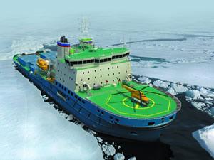 Rusya'da yeni bir buzkıran gemisinin inşasına başlandı