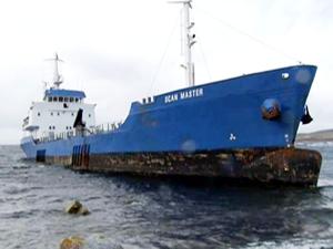 Karaya oturan M/T Scan Master isimli gemi, yapılan operasyonla kurtarıldı