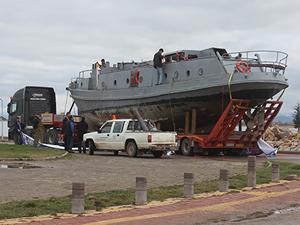 """Emektar savaş gemisi Beyşehir Gölü'nde """"müze"""" olacak"""