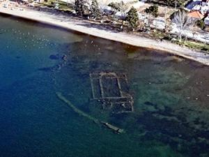 İznik Gölü'ndeki bulunan 1600 yıllık Bazilika sualtı müzesi olacak