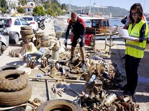 Bir yıl boyunca Antalya kıyıları temizlenecek