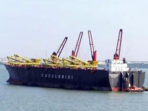 BULKWAYUU isimli çimento taşıyıcı barge, Aliağa'da söküme satıldı