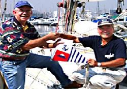 Yaşlı Japon denizci dünyayı turladı