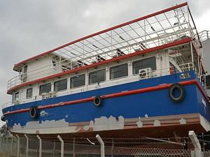 Malatya Gemisi kızakta çürümeye terkedildi