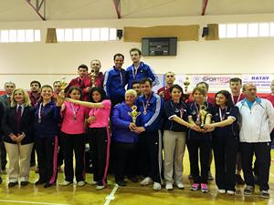 Marmara Tersanesi, Masa Tenisi Türkiye Şampiyonası'nda yine birinci oldu