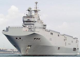 ''Rusya, 'Mistral' benzeri gemiyi inşa edebilir''