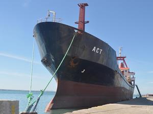 Türk bayraklı M/V ACT isimli kargo gemisi, Yunanistan'nın Igoumenitsa Limanı'nda tutuklandı