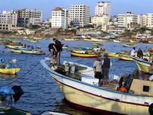 Gazzeliler İsrail ablukasına karşı liman istiyor