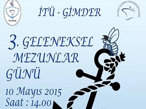 İTÜ GİMDER mezunlarını buluşturan etkinlik 10 Mayısta yapılacak