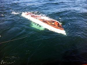 Marmara Denizi'nde batan teknede kaybolan kişi aranıyor