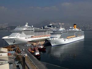 İzmir Alsancak Limanı'nda rıhtım yenileme çalışması başladı!