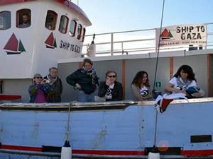 """İsveç'in """"Mavi Marmara'sı"""" Marianne gemisi yola çıktı"""