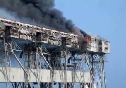 Liman yangını pahalıya mal oldu