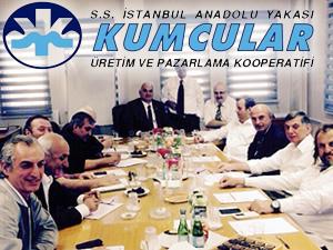 S.S. İstanbul Anadolu Yakası Kumcular Üretim ve Pazarlama Kooperatifi'nde görev dağılımı yapıldı