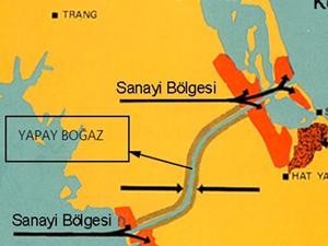 Çin, petrol tankerlerinin geçmesi için kanal inşa edecek