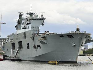 HMS Ocean isimli savaş gemisi 'Baltops 15' tatbikatına katılıyor