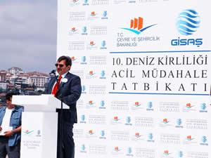 GİSAŞ 10. Deniz Kirliliğine hazırlık tatbikatı yapıldı