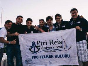 """Pîrî Reis Üniversitesi Yelken Kulübü, """"Bosphorus Cup 2015""""te 3. oldu"""