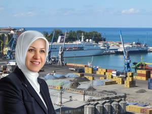Ayşe Sula Köseoğlu: Trabzon mega liman kenti olacak