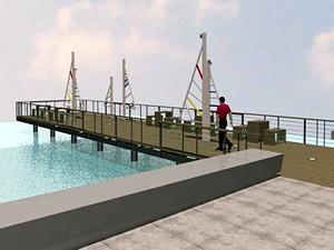 İzmir'de yapılan beş ahşap iskele Temmuz'da açılacak