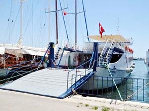Bodrum-Datça  arası feribot seferleri  daha da kısaldı