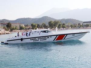 TCSG-33 botu Kemer'de göreve başladı