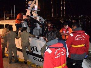 Bodrum'da kaçakları taşıyan tekne battı, 6 kişi hayatını kaybetti!