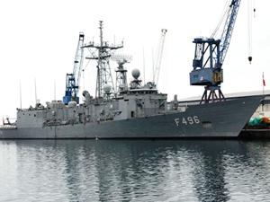 TCG Gökova Fırkateyni Kazablanka Limanı'na demirledi