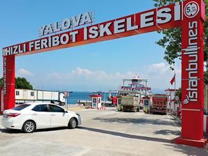 Binlerce aracın feribottaki tercihi İstanbullines oldu