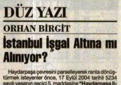 İstanbul İşgal mi Ediliyor?