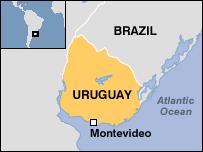 Uruguay'da balıkçı teknesinde yangın
