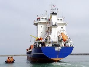 Türk şirketine ait M/V NIHAL, Ipswich Limanı'nda tutuklandı