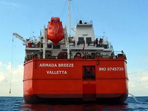 Bilal Erdoğan'ın yeni gemisine M/T ARMADA BREEZE ismi verildi