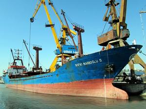 Türk bayraklı M/V RIFKI NAIBOGLU II, Yunanistan'ın Stylis Limanı'nda tutuklandı